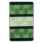 Коврик для ванной, HURREM 60х100, цвет зелёный