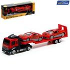 Машина металлическая «Пожарный автовоз», масштаб 1:64 - фото 105653945