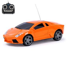 """Машина радиоуправляемая """"Спорт Кар"""", работает от батареек, цвета МИКС"""