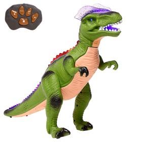 Динозавр радиоуправляемый 'T-Rex', световые и звуковые эффекты, работает от батареек Ош