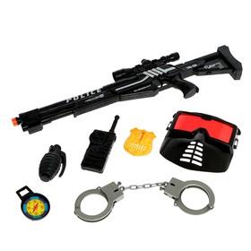 Набор полицейского «Снайпер», 7 предметов
