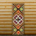 """Дверь для бани и сауны """"Орнамент"""", 190 х 70 см, с фотопечатью 8 мм Добропаровъ"""