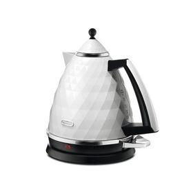 Чайник электрический Delonghi KBJ2001W, 2000 Вт, 1.7 л, белый