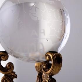 "Globe decorative ""Rhinestone"""