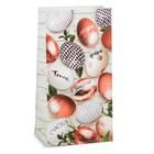 Пакет подарочный без ручек «Добра, тепла, мира», 12 х 19 х 7 см