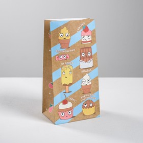 """Package gift without handles """"Jolly sweets"""", 10 × 19,3 × 7 cm"""