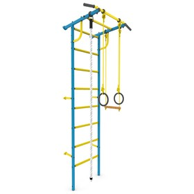 Детский спортивный комплекс «Роки-1», ПВХ, 650 × 870 × 2300 мм, цвет синий