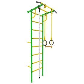Детский спортивный комплекс 'Роки-1', ПВХ, цвет зелёный Ош