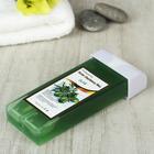 Воск для депиляции в картридже олива зелёный, 100 гр