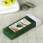 Воск для депиляции в картридже алоэ вера зелёный, 100 гр