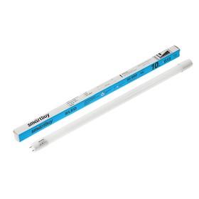 Лампа cветодиодная Smartbuy, Т8, G13, 10 Вт, 6400 К, 800-950 Лм, 600 мм, холодный белый