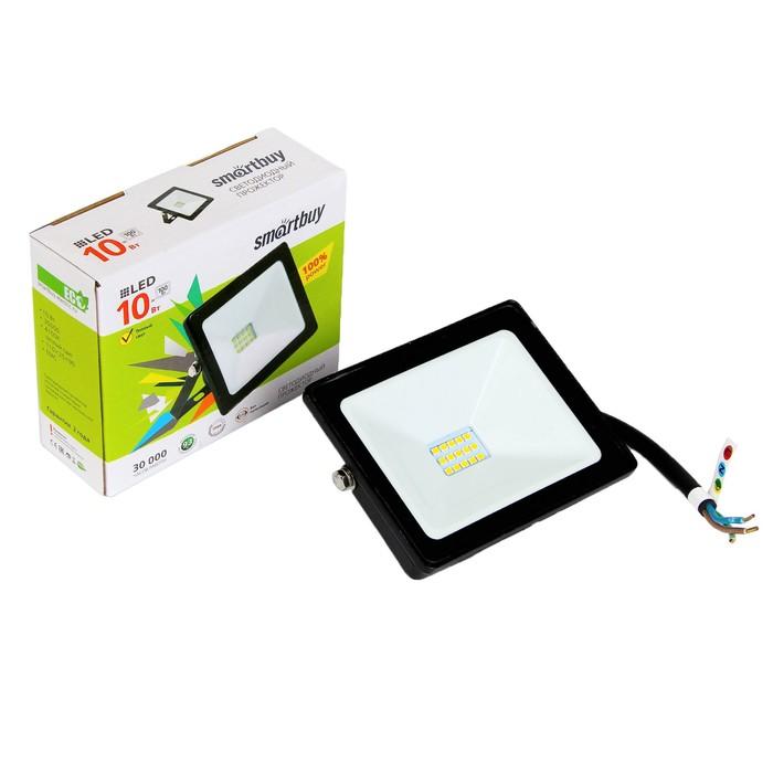 Прожектор светодиодный Smartbuy FL SMD, 10 Вт, 4100 K, IP65