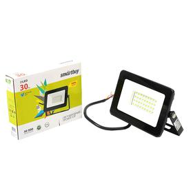 Прожектор светодиодный Smartbuy FL SMD, 30 Вт, 6500 K, 2400 Лм, IP65, холодный белый