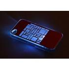 "Чехол для задней панели Apple iPhone 4/4S, с подсветкой ""Геометрия"", МИКС"