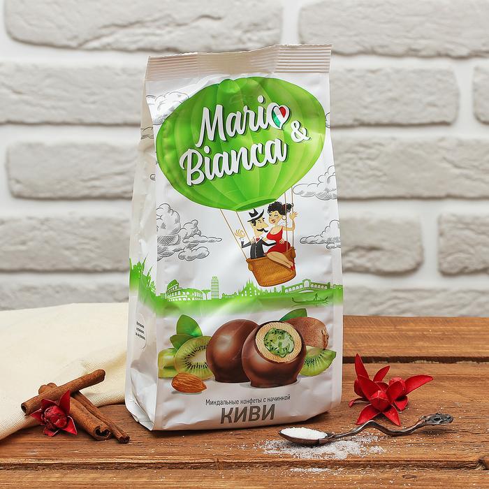 """Миндальная конфета с начинкой """"Киви"""" 190 гр"""