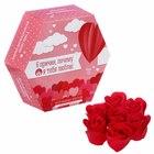 """Мыльные лепестки в коробке """"6 причин, почему я тебя люблю"""", 7 шт."""