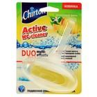 Подвесной очиститель для унитаза Chirton «Цитрусовый фреш» блок с гел. полоской, 40 г