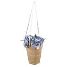 Коробка для цветов на лентах «Корзинка красоты», 33,5 х 31,5 см