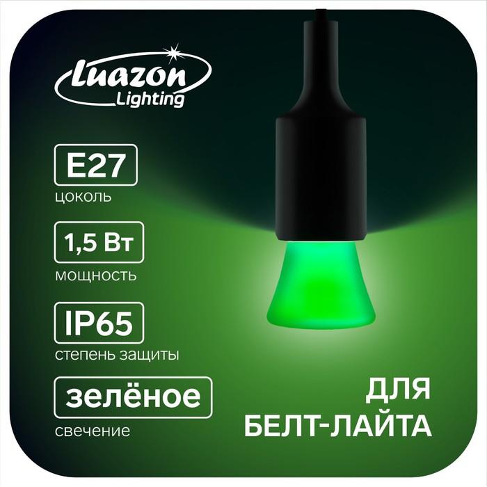 """Лампа светодиодная декорат. Luazon Lighting """"Фонарик"""", 5 SMD2835, для белт-лайта, зеленый"""
