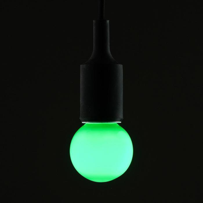 Лампа светодиодная декоративная Luazon Lighting, G60, 6 SMD2835, для белт-лайта, зеленый