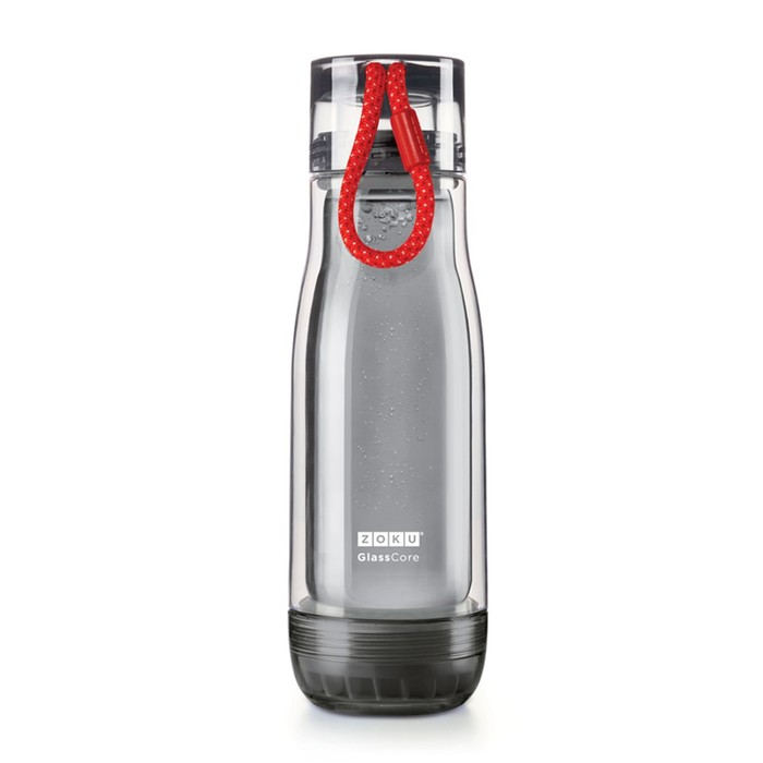 Бутылка Zoku Active, красная, 475 мл