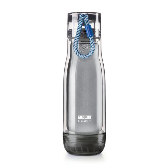 Бутылка Zoku Active, синяя, 475 мл