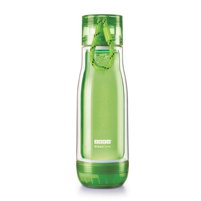 Бутылка Zoku, зелёная, 475 мл