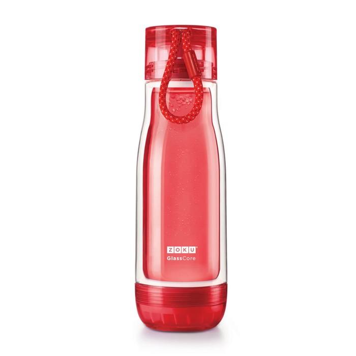 Бутылка Zoku, красная, 475 мл