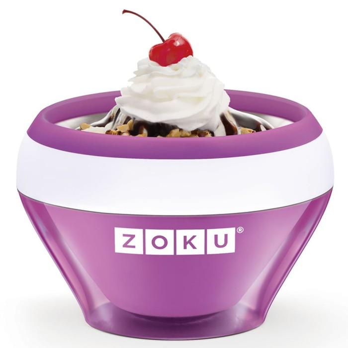 Мороженица Ice Cream Maker, фиолетовая