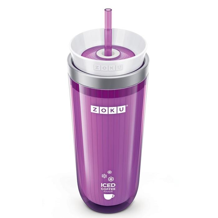 Стакан для охлаждения напитков Iced Coffee Maker, фиолетовый
