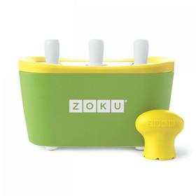 Набор для приготовления мороженого Triple Quick Pop Maker, зелёный