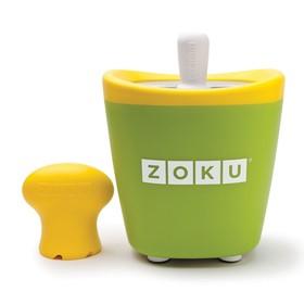 Набор для приготовления мороженого Single Quick Pop Maker, зелёный