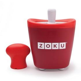 Набор для приготовления мороженого Single Quick Pop Maker, красный