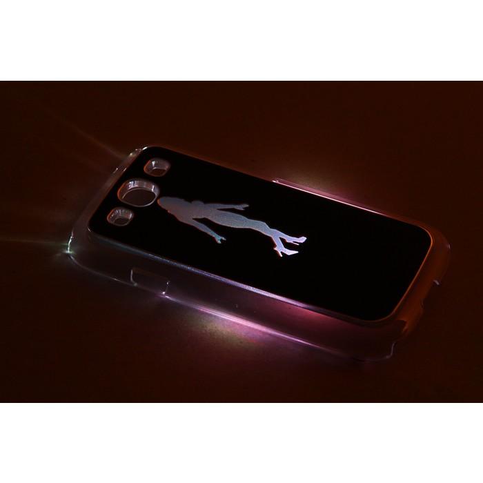 """Чехол для задней панели Samsung Galaxy S3, 9300, с подсветкой """"Танцы"""", МИКС"""