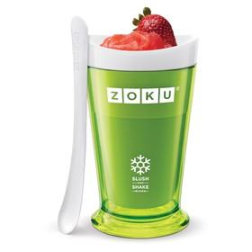 Форма для холодных десертов Slush & Shake, зелёная