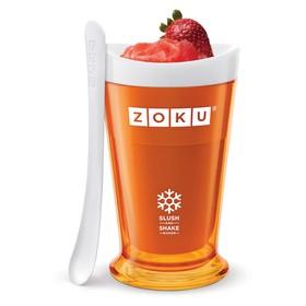 Форма для холодных десертов Slush & Shake, оранжевая