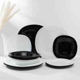Сервиз столовый Carine White&Black, 18 предметов