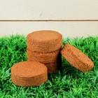 Таблетки кокосовые, d=6 см, 5 шт. в упаковке