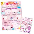 """Плакат для новорожденной """"Мой первый год"""" с наклейками"""
