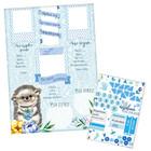"""Плакат для новорожденного """"Первый год"""" с наклейками"""