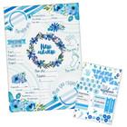 """Плакат для новорожденного """"Наш малыш"""" с наклейками"""