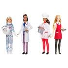 Набор куклы Barbie: повар, официантка, астронавт, исследовательница, МИКС