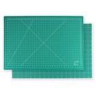 Мат для резки двусторонний, формат А1, цвет зелёный
