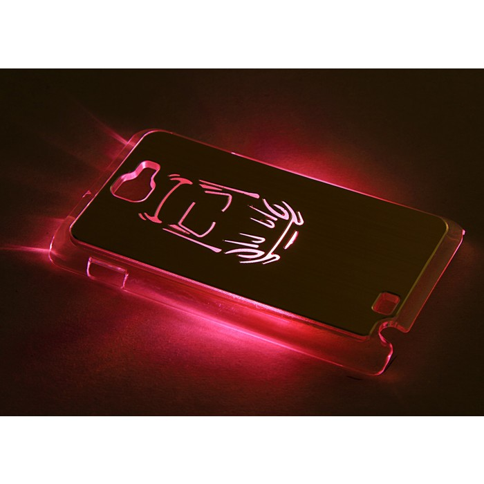 "Чехол для задней панели Samsung Galaxy Note, 9220, с подсветкой ""Машина"", МИКС"
