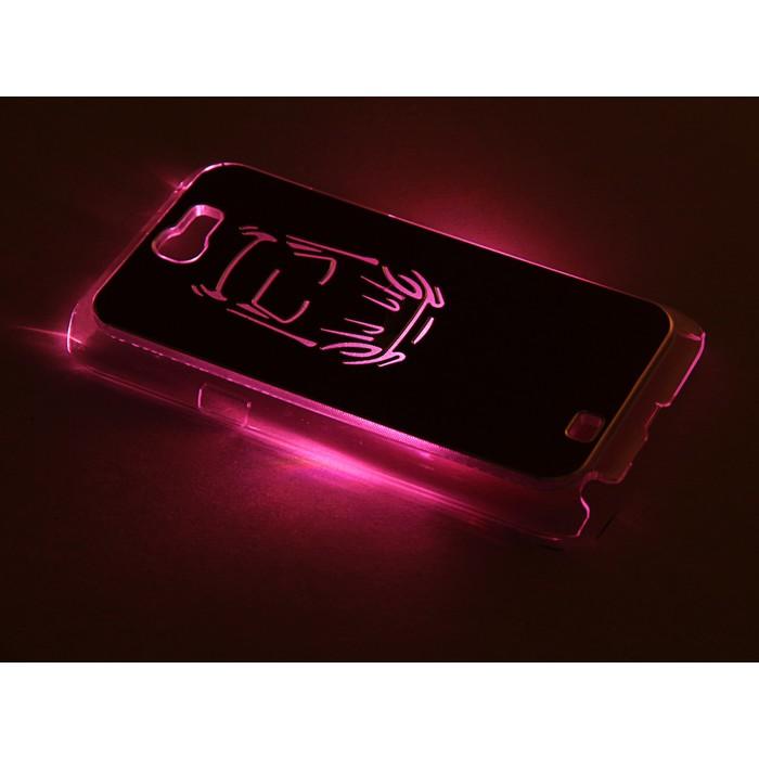 "Чехол для задней панели Samsung Galaxy Note 2, 7100, с подсветкой ""Машина"", МИКС"