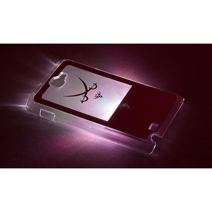 """Чехол для задней панели Samsung Galaxy Note, 9220, с подсветкой """"Зеркальные"""", МИКС"""