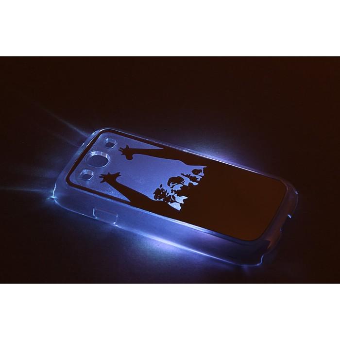 """Чехол для задней панели Samsung Galaxy S3, 9300, с подсветкой """"Зеркальные"""", МИКС"""