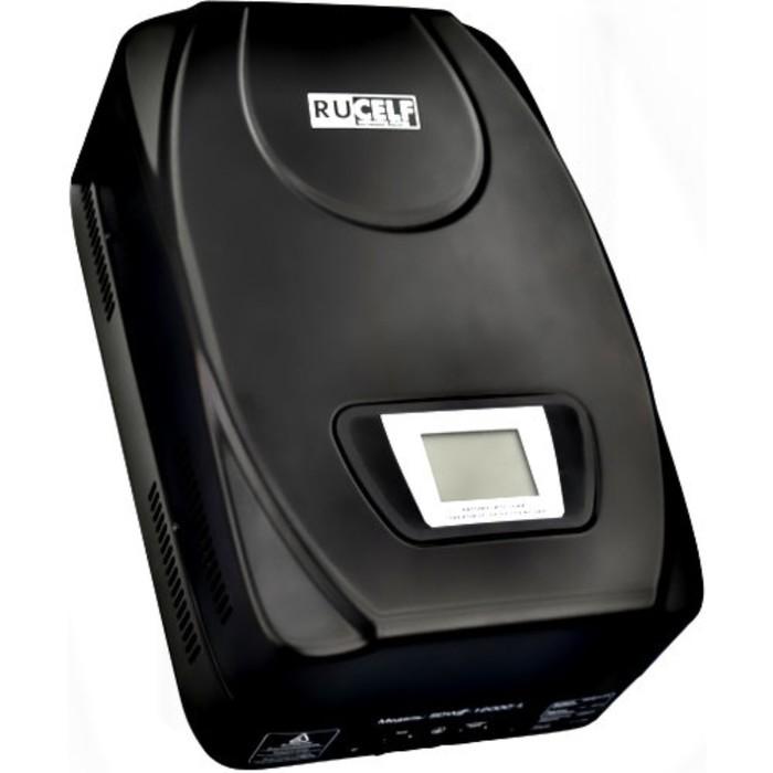 Стабилизатор напряжения RUCELF SDW.II-12000-L, электромех., настенный, точн.: ±1,5%, 12000 ВА