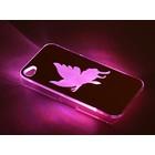 """Чехол для задней панели Apple iPhone 4/4S, с подсветкой """"Бабочка"""", МИКС"""