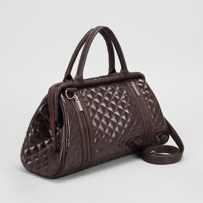 625a3fd3dde9 Сумка дорожная, отдел на молнии, наружный карман, регулируемый ремень, цвет  коричневый